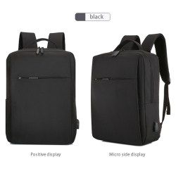15in Business Laptop Backpack with Charging Connector Laptop Bag Business Backpack Suitable for Business Office
