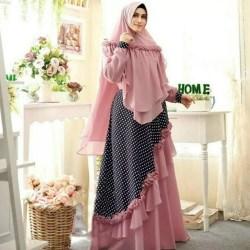Baju gamis wanita muslimah terbaru / Syari wanita muslimah / Syari Ekaria