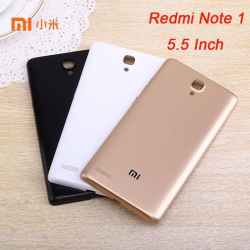 Back Door Xiaomi Redmi Note 1 Tutup Belakang HP Housing Backdoor Cover