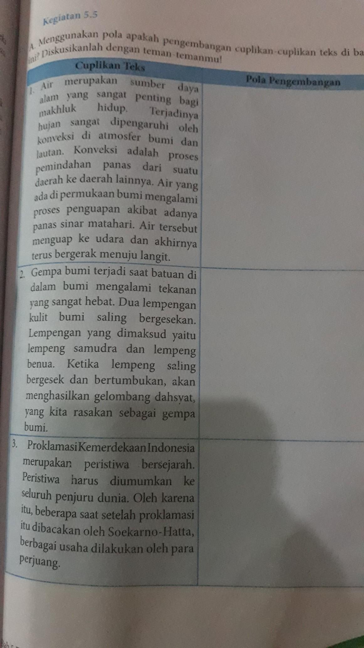 Latihan Soal PAT Bahasa Indonesia SMP Kelas 8 Tahun 2020/2021