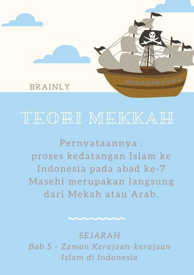 Teori Teori Masuknya Islam Di Indonesia : teori, masuknya, islam, indonesia, Bagaimana, Pendapat, Tentang, Berbagai, Teori, Masuknya, Islam, Indonesia?, Jelaskan, Brainly.co.id