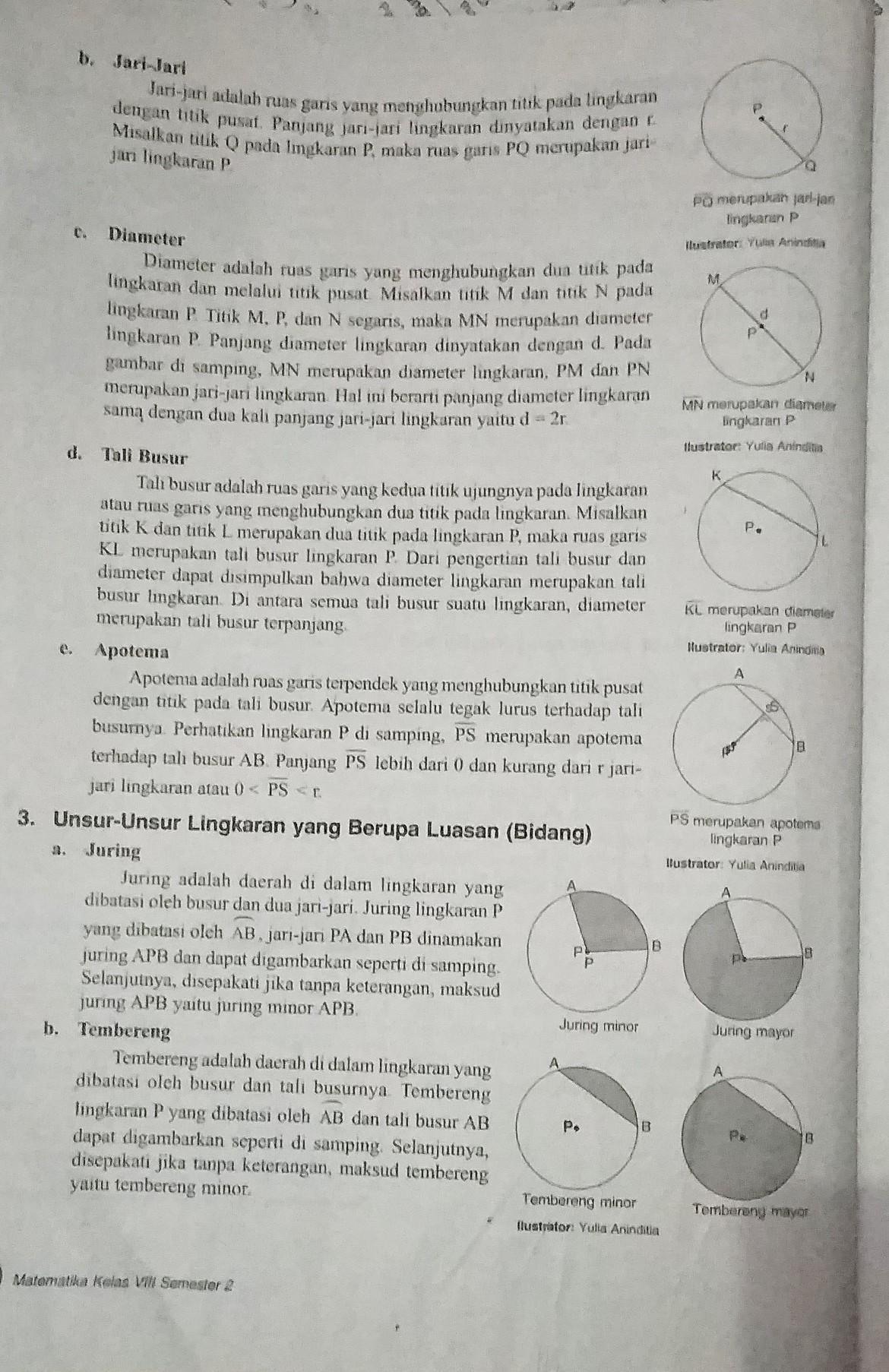 Sebutkan 3 Unsur Pada Lingkaran Beserta Penjelasannya : sebutkan, unsur, lingkaran, beserta, penjelasannya, Sebutkan, Unsur, Lingkaran, Beserta, Penjelasannya, Brainly.co.id