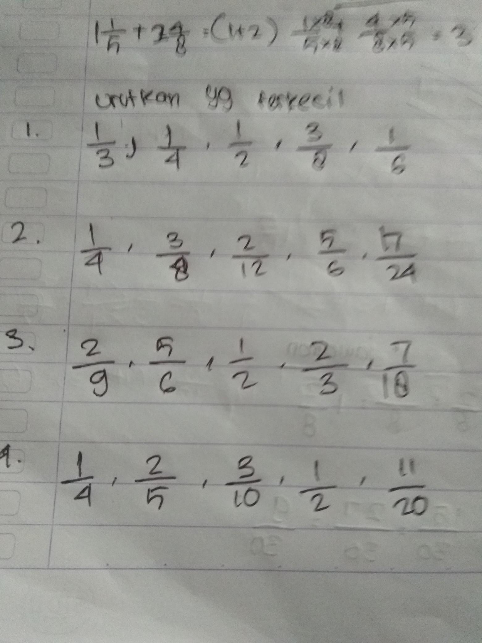 Urutkan Bilangan Tersebut Dari Yang Terkecil : urutkan, bilangan, tersebut, terkecil, Urutan, Bilangan, Terkecil, Brainly.co.id