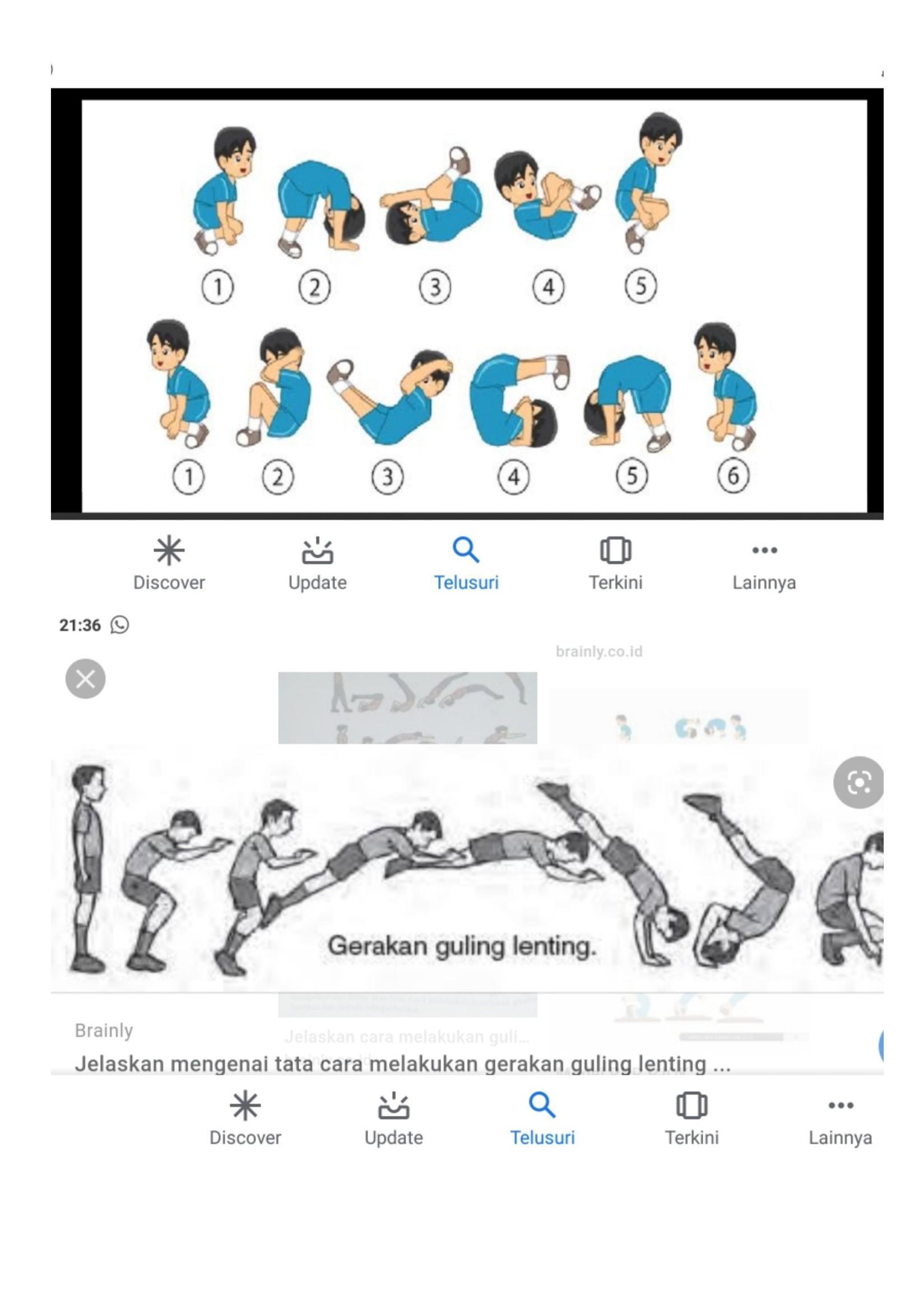 Cara Roll Depan : depan, Jelaskan, Melakukan, Depan, Dengan