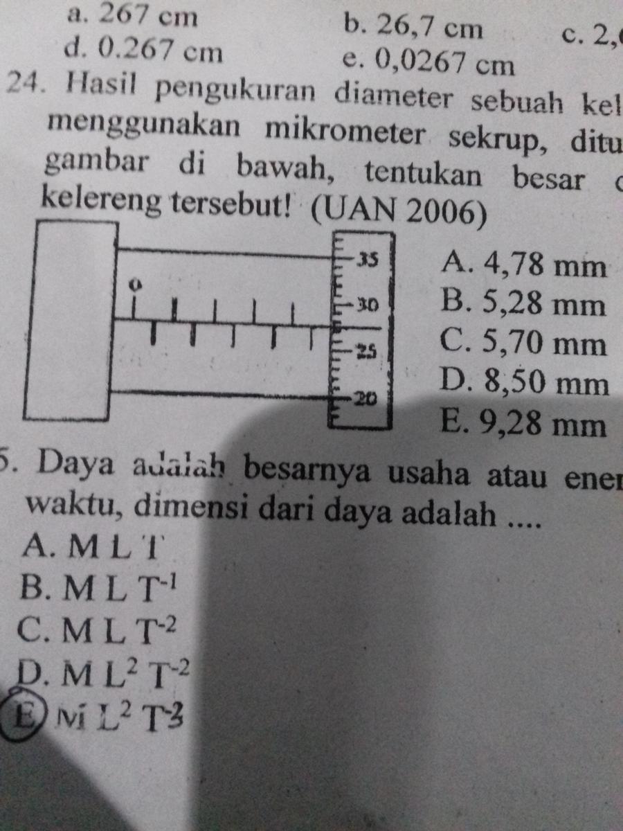Hasil Ukuran Yang Ditunjukkan Oleh Mikrometer Sekrup Di Bawah Ini Adalah : hasil, ukuran, ditunjukkan, mikrometer, sekrup, bawah, adalah, Hasil, Pengukuran, Diameter, Sebuah, Kelereng, Dengan, Menggunakan, Mikrometer, Sekrup, Tunjukan, Brainly.co.id