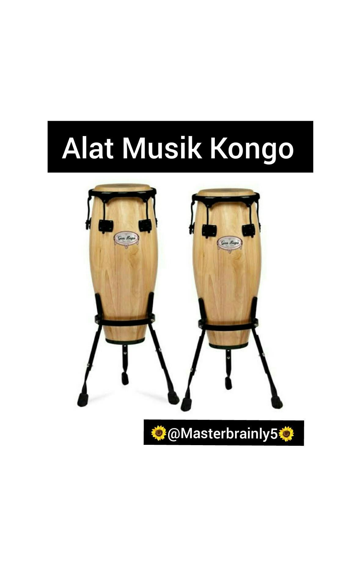 Alat Musik Kongo : musik, kongo, Gambar, Musik, Kongo, Brainly.co.id
