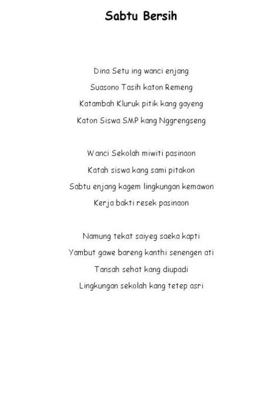 Puisi Bahasa Jawa Tentang Lingkungan : puisi, bahasa, tentang, lingkungan, Puisi, Bahasa, Tentang, Lingkungan, Beserta, Unsur.dan, Struktur, Brainly.co.id