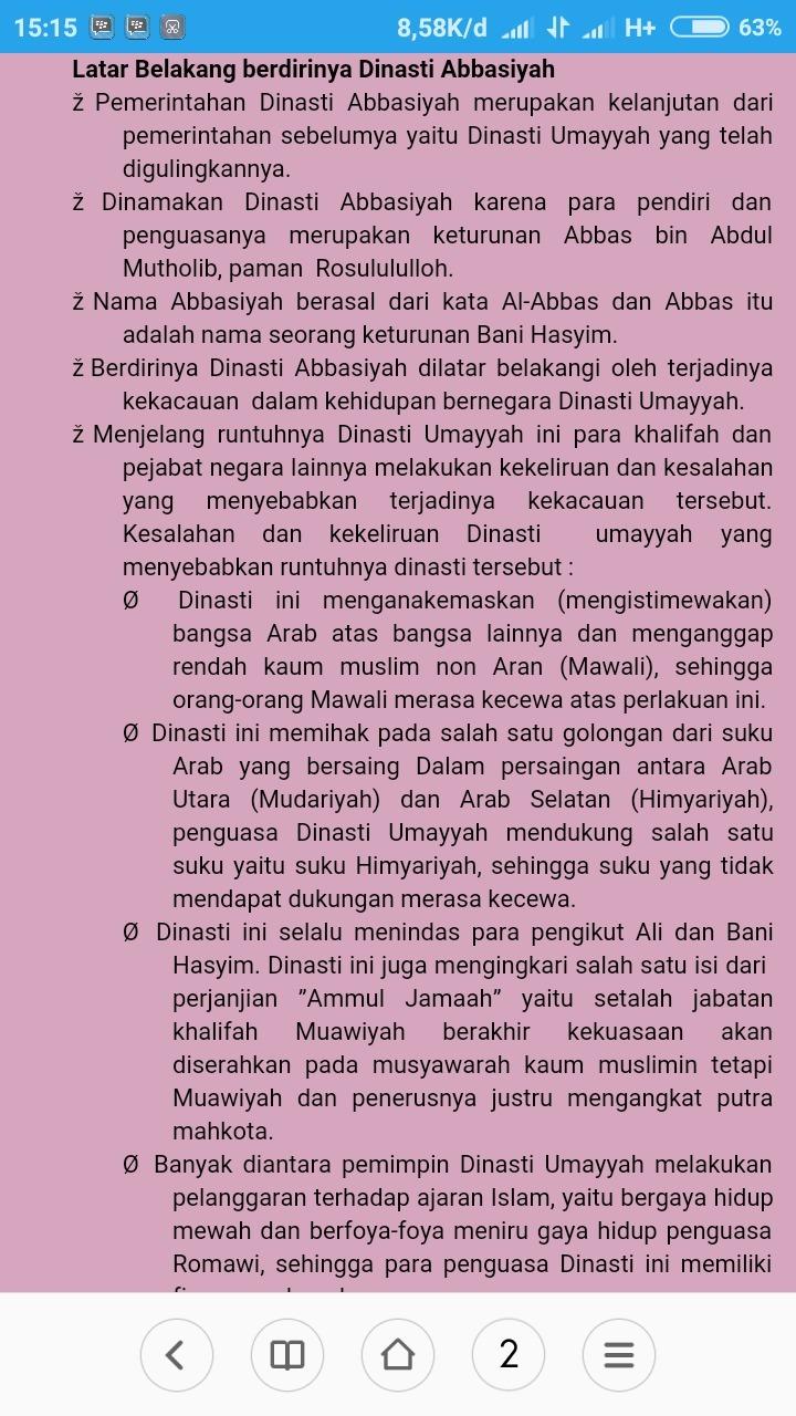 Proses Berdirinya Dinasti Abbasiyah : proses, berdirinya, dinasti, abbasiyah, Sejarah, Berdirinya, Abbasiyah, IlmuSosial.id