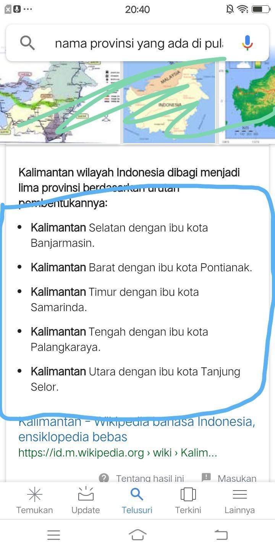 Sebutkan 5 Pulau Besar Di Indonesia : sebutkan, pulau, besar, indonesia, Sebutkan, Provinsi, Pulau, Kalimantan, Brainly.co.id