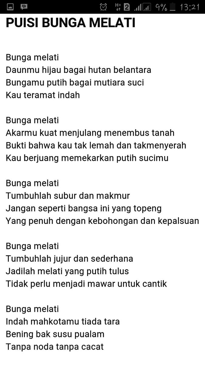 Contoh Puisi Bunga : contoh, puisi, bunga, Sekarang, Cobalah, Membuat, Sebuah, Puisi, Tentang, Bunga, Nasional, Indonesia, Brainly.co.id