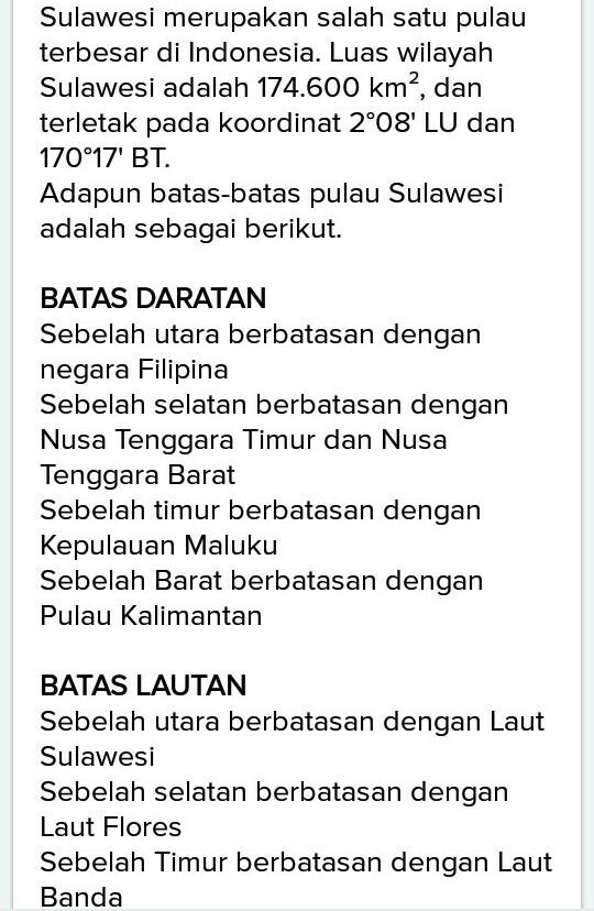 Berita dan Informasi Sulawesi Terkini dan Terbaru Hari ini