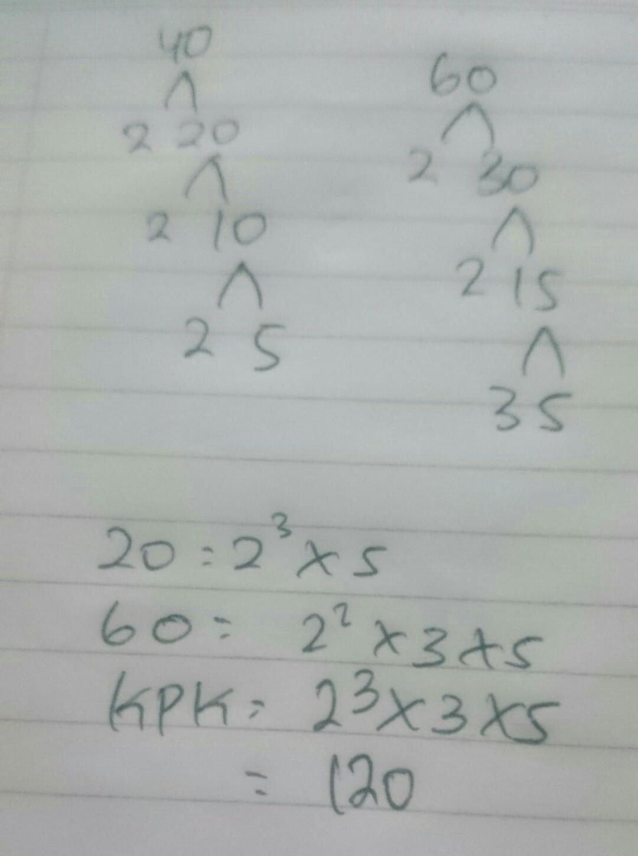 Faktorisasi Prima Dari 60 : faktorisasi, prima, Faktorisasi, Prima, Adalah........tlng, Bantu, Dikumpul, Skrng., Brainly.co.id