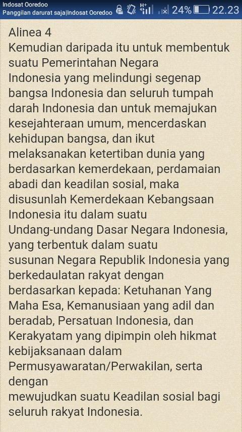 Tujuan Nasional Bangsa Indonesia Tercantum Dalam Pembukaan Uud 1945 Alinea : tujuan, nasional, bangsa, indonesia, tercantum, dalam, pembukaan, alinea, Tujuan, Nasional, Bangsa, Indonesia, Tercantum, Dalam, Pembukaan, Undang-undang, Dasar, Alinea, Brainly.co.id