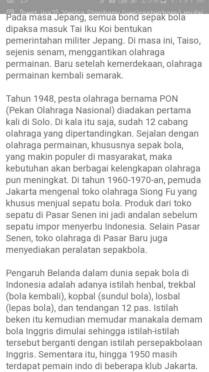 Permainan Sepak Bola Berasal Dari : permainan, sepak, berasal, Jelaskan, Pengertian, Sepak, Indonesia, Brainly.co.id