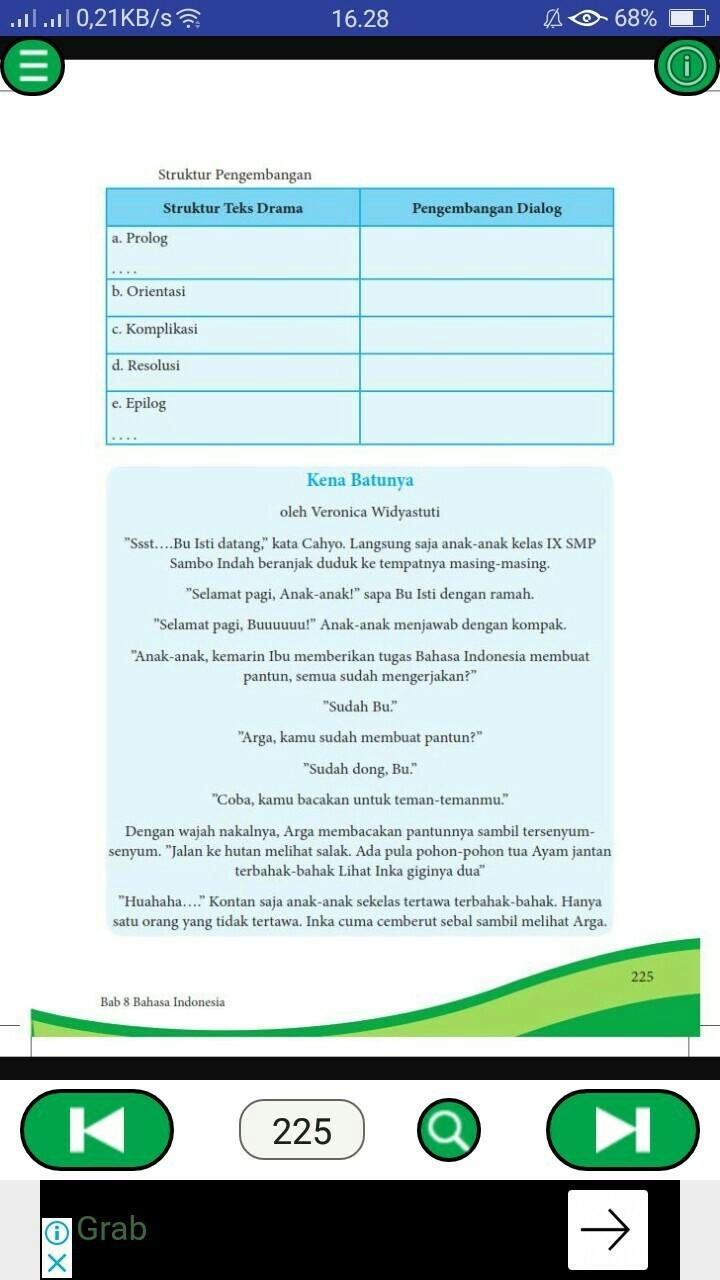 Soal Bahasa Indonesia Kelas 8 SMP/MTS 2021 dan Kunci Jawabannya