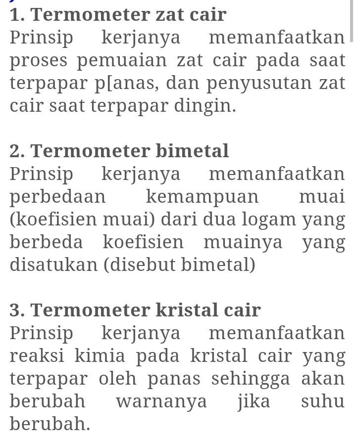 Gambar Termometer Kristal Cair : gambar, termometer, kristal, Bagaimana, Prinsip, Kerja, Termometer, Cair,termometer, Bimetal,dan, Kristal, Brainly.co.id