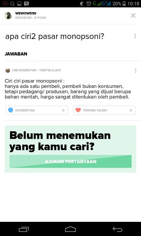Ciri-ciri Pasar : ciri-ciri, pasar, Bagaimana, Pasar, Monopsoni?, Brainly.co.id