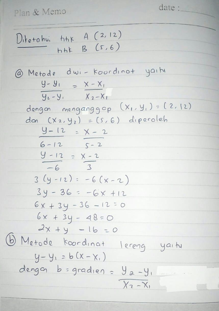 Fungsi linear definisi bentuk grafik contoh soal. 10+ Contoh Soal Fungsi Linear - Kumpulan Contoh Soal