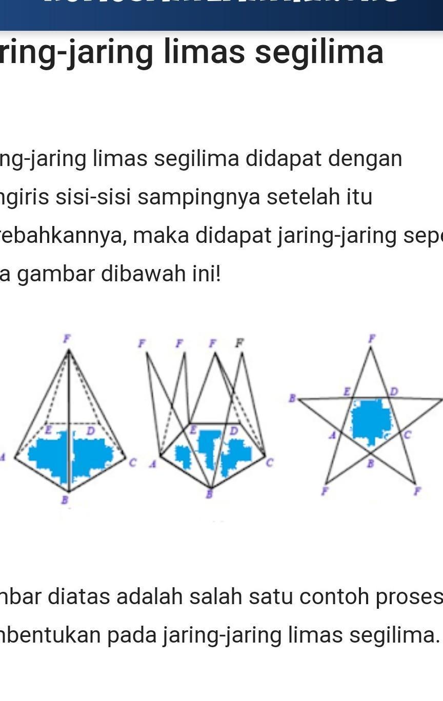 Jaring Limas Segitiga : jaring, limas, segitiga, Gambar, Jaring, Limas, Brainly.co.id