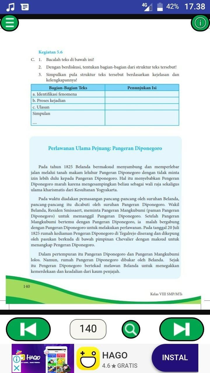 Kegiatan 5.6 Bahasa Indonesia Kelas 8 : kegiatan, bahasa, indonesia, kelas, Kegiatan, Kelas, Brainly.co.id