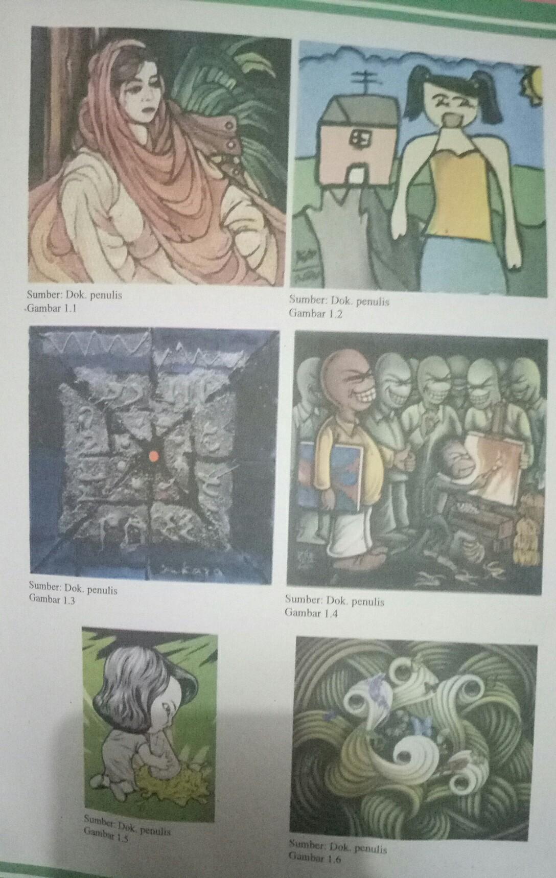Teknik Karya Seni Rupa 2 Dimensi : teknik, karya, dimensi, Dapatkah, Mengidentifikasi, Bahan, Digunakan, Karya, Tersebut?2), Brainly.co.id
