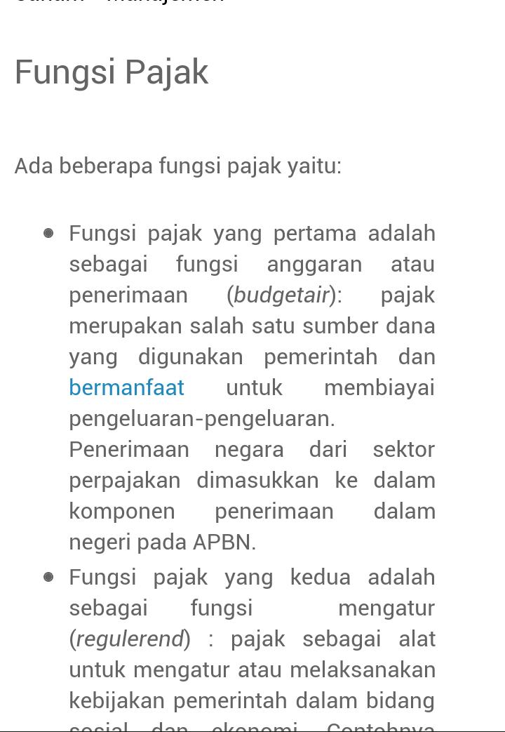 Berikut Merupakan Fungsi Pajak Kecuali : berikut, merupakan, fungsi, pajak, kecuali, Jelaskan, Fungsi, Pajak, Terimakasih, Brainly.co.id
