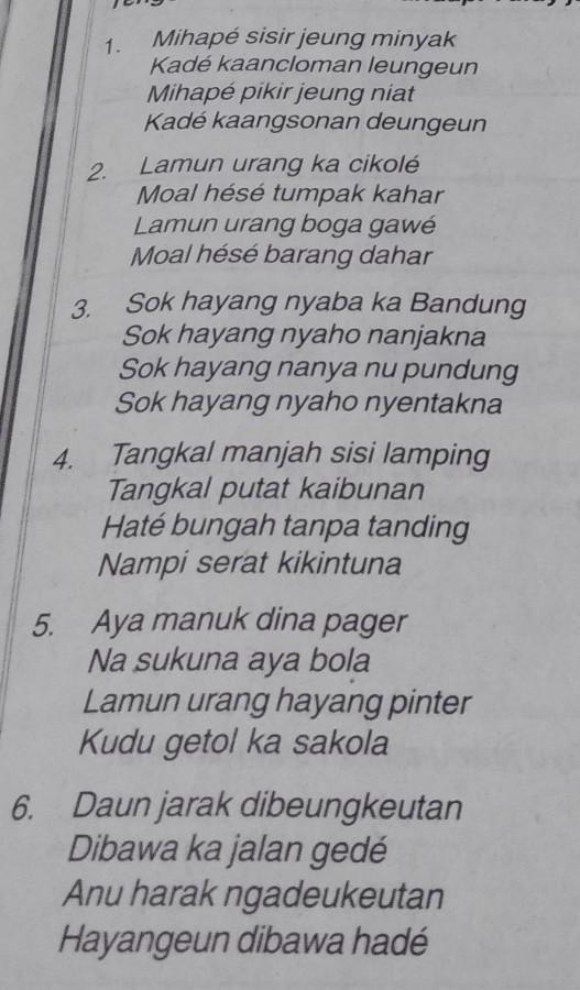 Sisindiran Bahasa Sunda : sisindiran, bahasa, sunda, Tataan, Sisindiran, Luhur, Kaasup, Paparikan2., Brainly.co.id