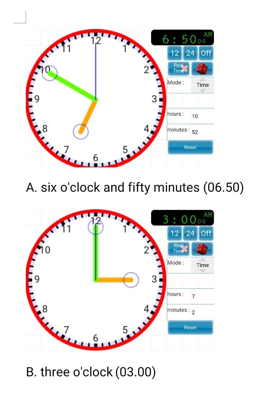Waktu Dalam Bahasa Inggris Am Pm : waktu, dalam, bahasa, inggris, Tuliskan, Gambarkan, (gambar, Jarum, Jamnya)waktu, Dibawah, Dalam, Bahasa, Inggris!a.6.50, Brainly.co.id