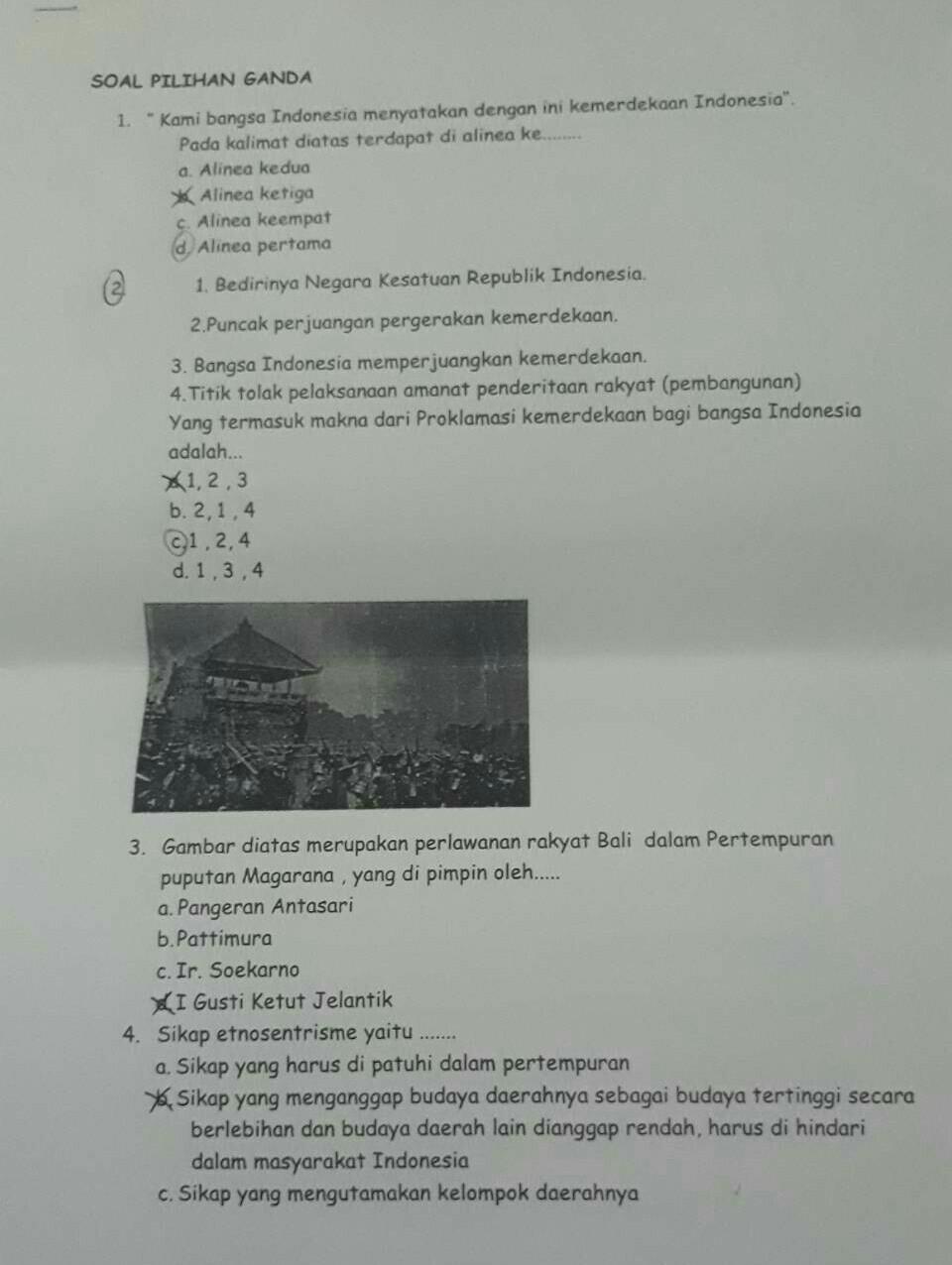 Soal Pilihan Ganda Pkn Kelas 7 Semester 1 Kurikulum 2013 : pilihan, ganda, kelas, semester, kurikulum, Kelas, Galeri