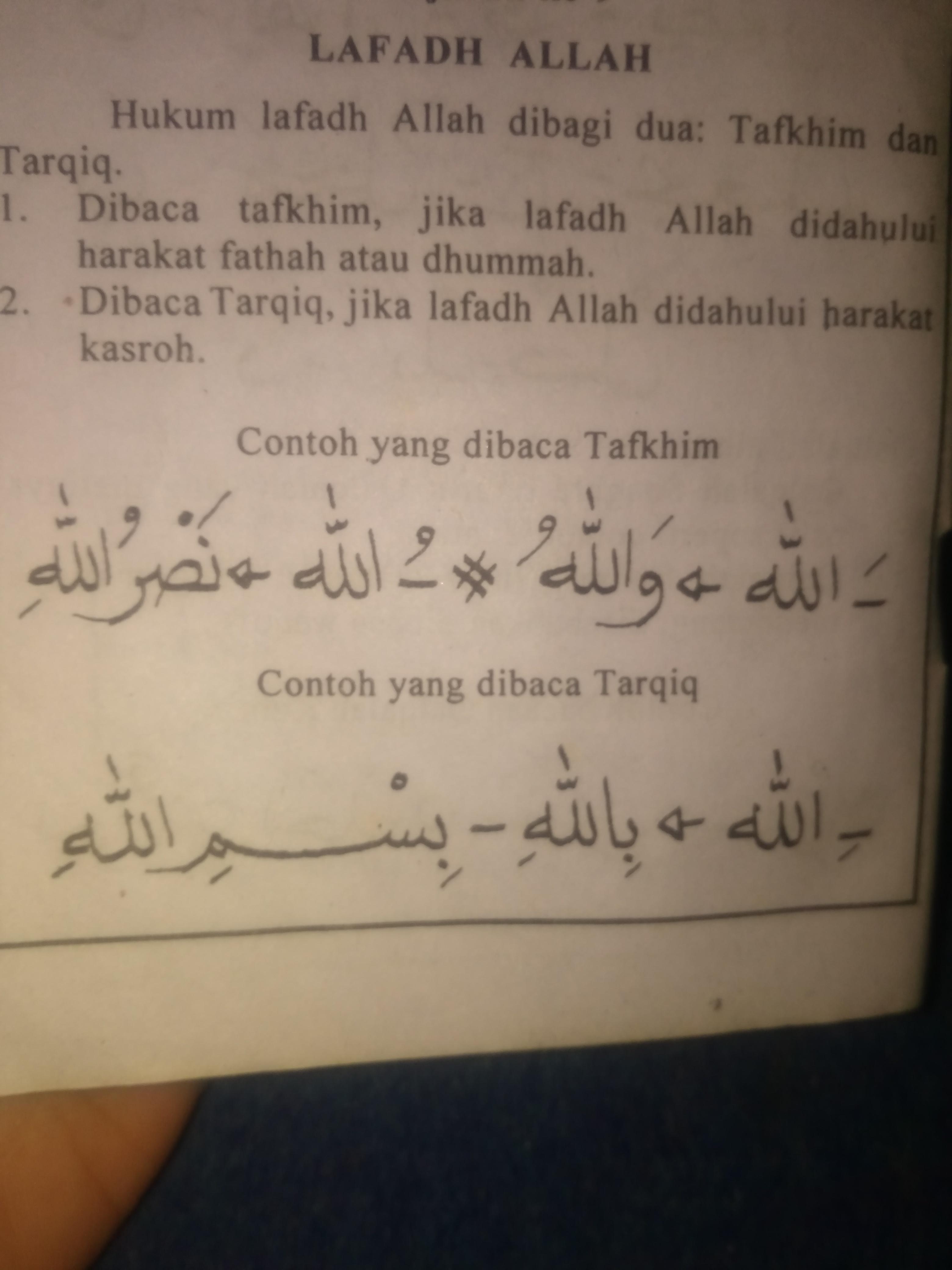 Ra Tarqiq Dan Tafkhim : tarqiq, tafkhim, Contah, Hukum, Bacaan, Tafkhim, TarQiQ, Brainly.co.id