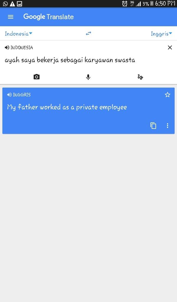 Bahasa Inggris Karyawan Swasta : bahasa, inggris, karyawan, swasta, Bahasa, Inggrisnya, Bekerja, Sebagai, Karyawan, Swasta, Brainly.co.id
