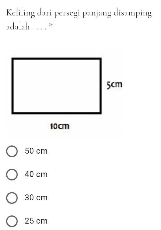 Gambar Persegi Panjang : gambar, persegi, panjang, Keliling, Persegi, Panjang, Gambar, Adalah..., Brainly.co.id