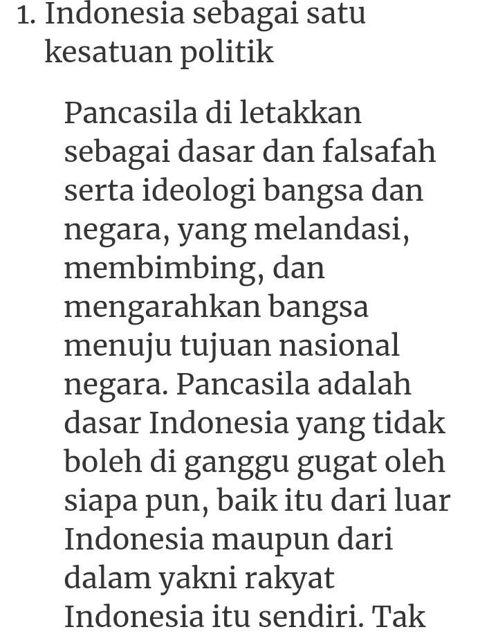 Indonesia Sebagai Satu Kesatuan Politik : indonesia, sebagai, kesatuan, politik, Jelaskan, Bahwa, Indonesia, Merupakan, Kesatuan, Politik,, Wilayah,, Pertahanan,, Ekonomi,, Sosial, Brainly.co.id