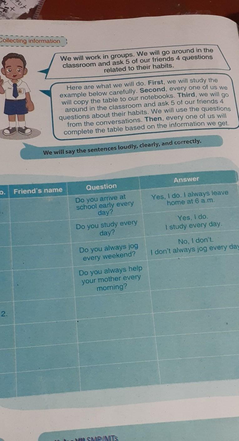 Kunci Jawaban Lks Bk Kelas 7 Cara Golden