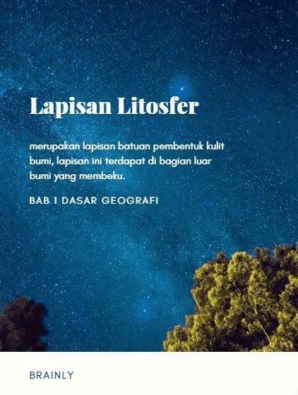 Barisfer Adalah : barisfer, adalah, Apakah, Pengertian, Litosfer,, Pedosfer,, Astenosfer,, Barisfer?, Brainly.co.id