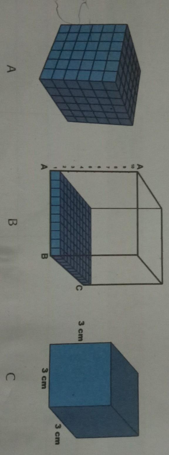 Luas Permukaan Kubus : permukaan, kubus, Hitunglah, Permukaan, Kubus, Berikut, Brainly.co.id