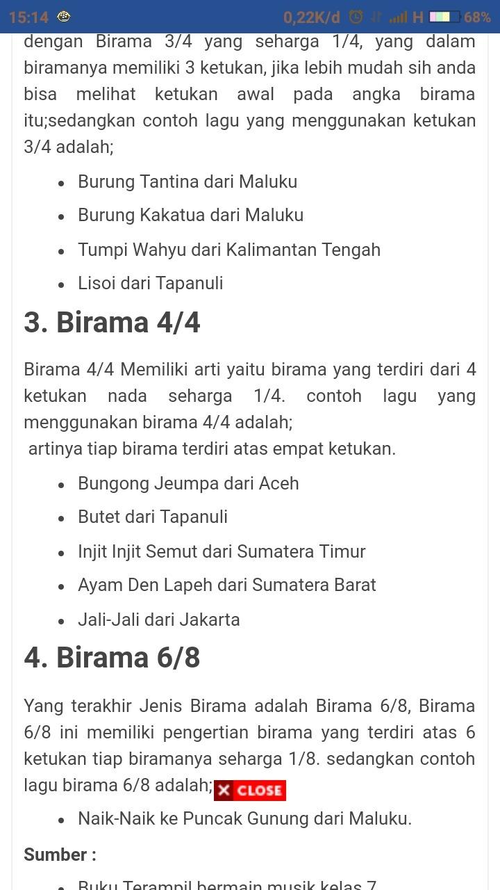 Birama Adalah : birama, adalah, Birama, Adalah....., Brainly.co.id