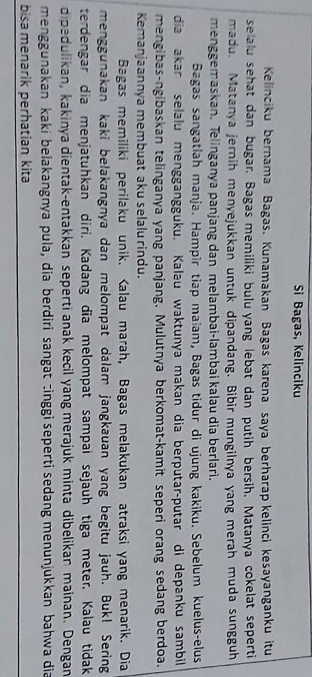 Jelaskan Ciri Teks Deskripsi Dari Segi Tujuan Dan Objek Yang Dideskripsikan : jelaskan, deskripsi, tujuan, objek, dideskripsikan, A)Menentukan, Kata/kalimat, Merupakan, Deskripsi, Atas!b)Jelaskan, Brainly.co.id
