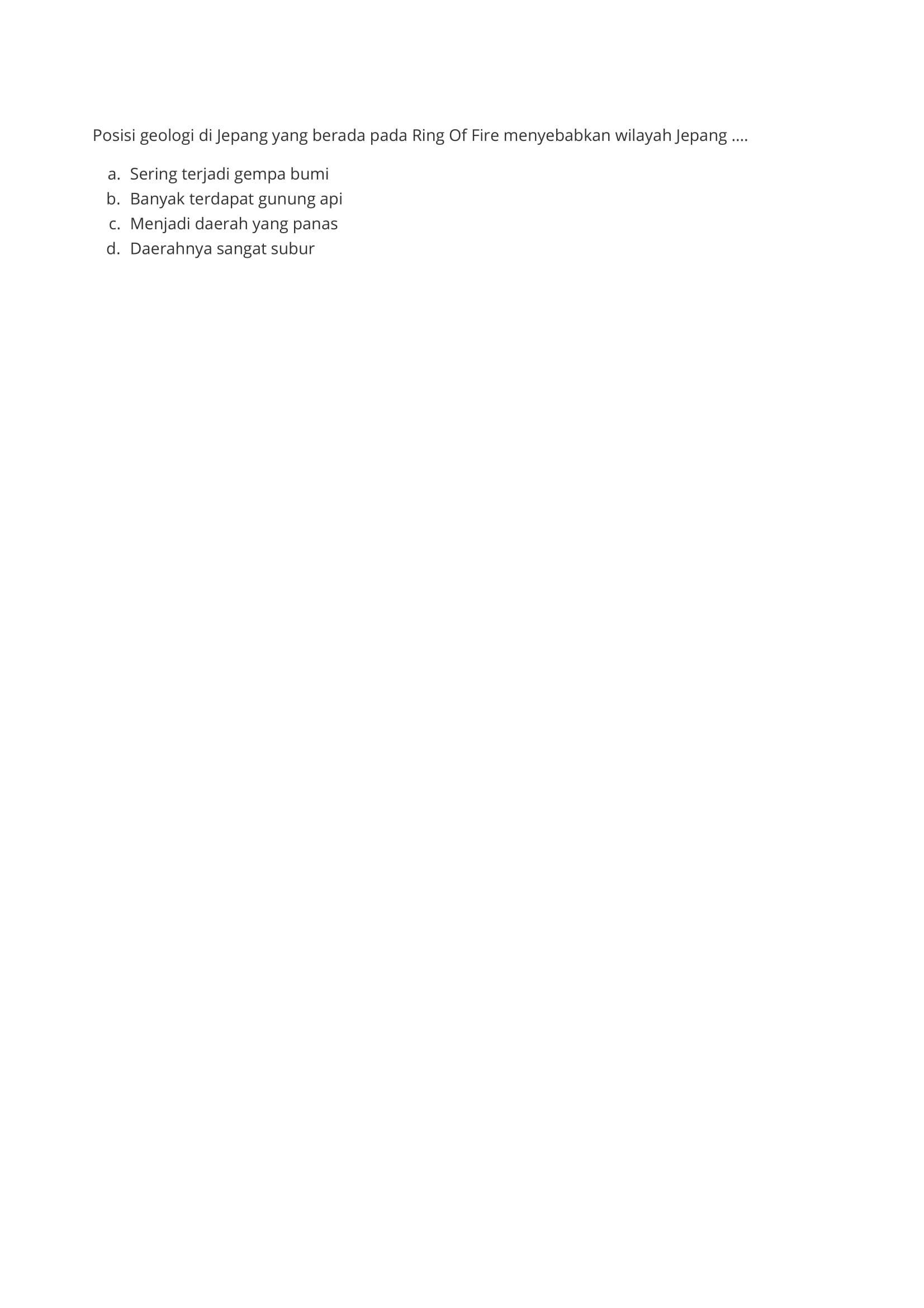 PDF Unduh Soal Ips Kelas 9 Semester 1 Bab 1 PDF secara gratis