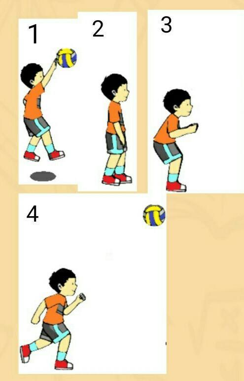 Gerak Dasar Bola Voli Adalah : gerak, dasar, adalah, Urutan, Langkah, Tepat, Gambar, Variasi, Dankombinasi, Gerak, Dalam, Permainan, Brainly.co.id