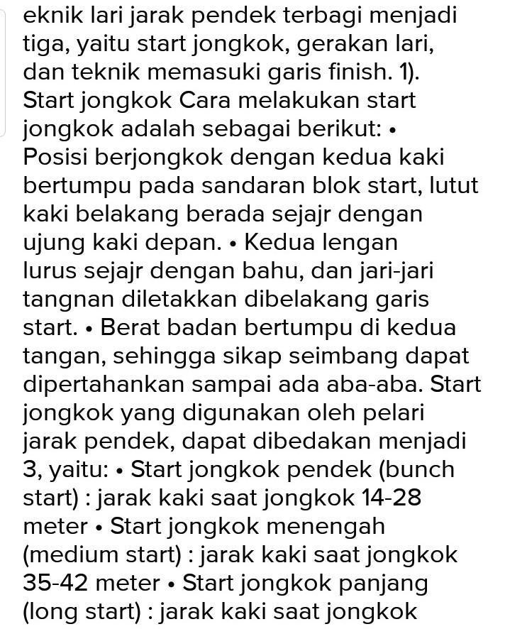 Pada Start Jongkok Ini, Sikap Start Dapat Di Bagi Tiga Aba Aba Yaitu -  Brainly.co.id