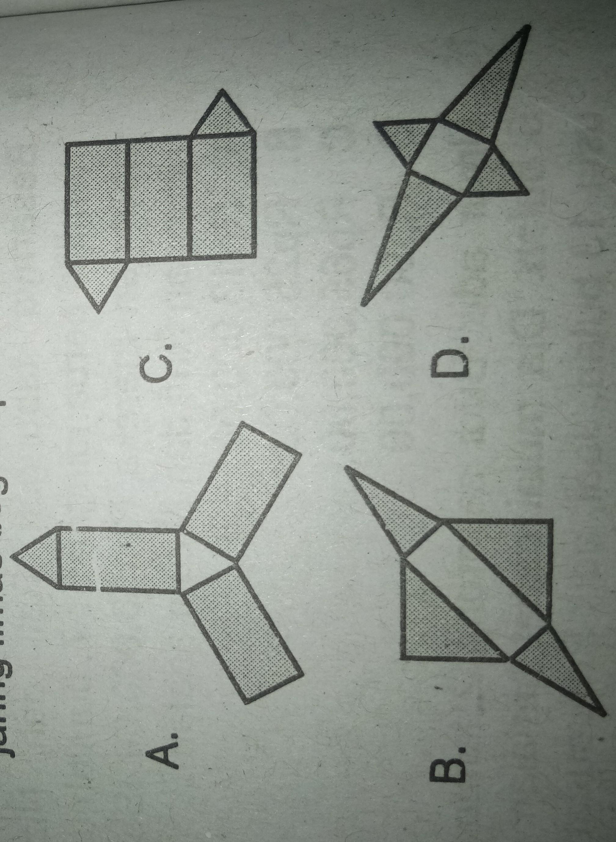 Jaring Limas Segitiga : jaring, limas, segitiga, Gambar, Berikut, Merupakan, Jaring-jaring, Limas, Empat, Adalah...., Tolong, Dijawab, Brainly.co.id