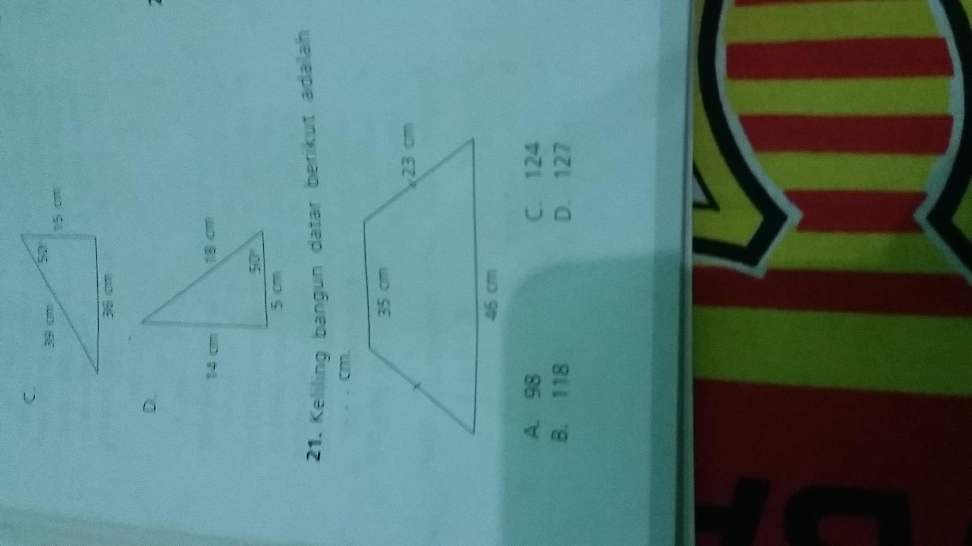 Cara Menghitung Luas Trapesium