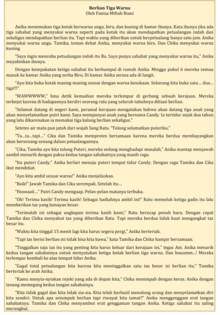 Berlian Tiga Warna Urutkan Kejadian Yang Dialami Anika Pada Cerita Tersebut : berlian, warna, urutkan, kejadian, dialami, anika, cerita, tersebut, Berlian, Warna, Urutkan, Kejadian, Dialami, Anika, Cerita, Tersebut