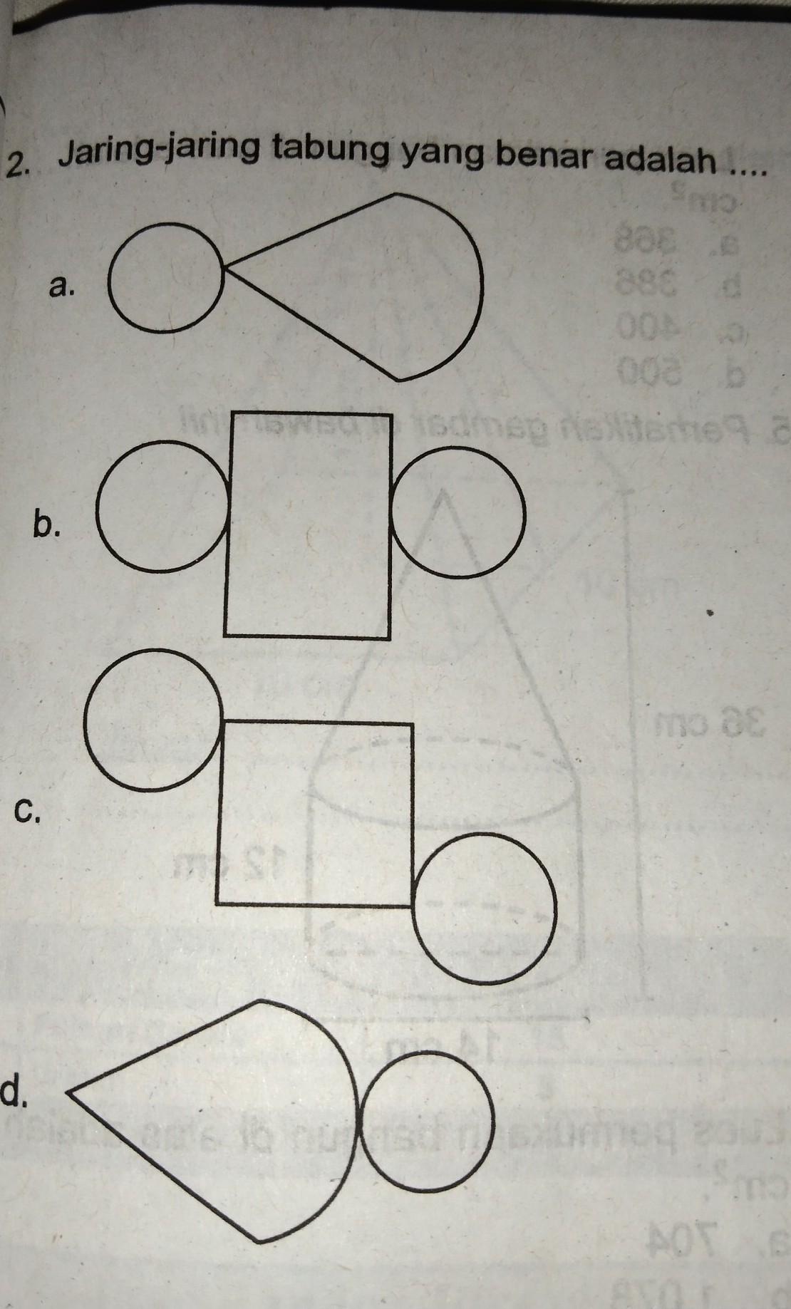 Jaring-jaring Tabung : jaring-jaring, tabung, Jaring-jaring, Tabung, Benar, Adalah..., Brainly.co.id