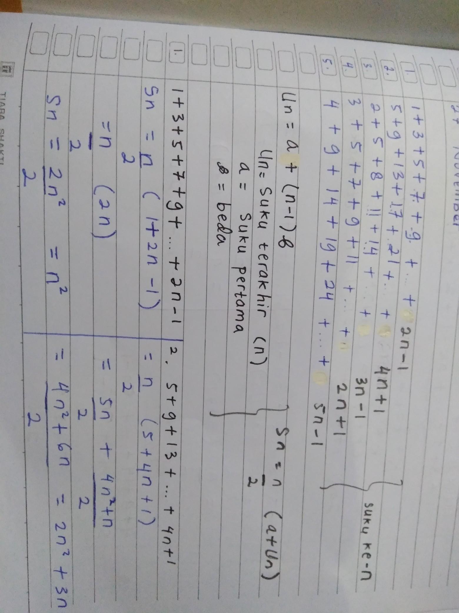 Contoh Soal Induksi Matematika Kelas 11 Beserta Jawabannya : contoh, induksi, matematika, kelas, beserta, jawabannya, MATEMATIKA, KELAS, (INDUKSI, MATEMATIKA), Tolong, Buktikan, Dengan, Induksi, Matematika, Nomor, Brainly.co.id