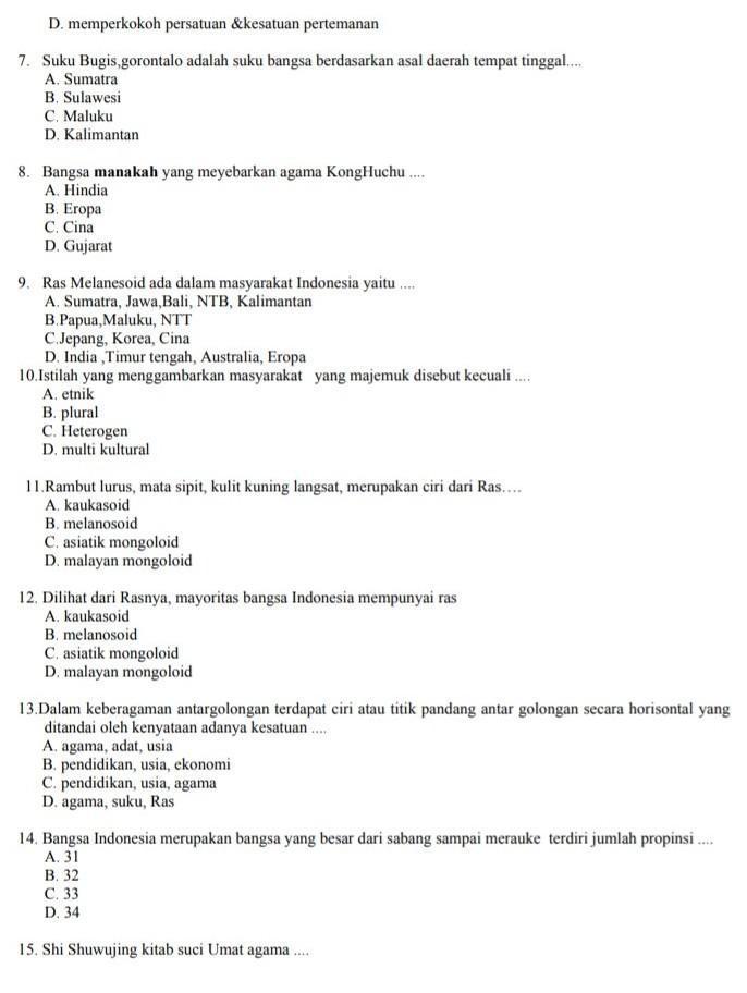 Suku Bangsa Mayoritas Yang Tinggal Di Provinsi Bali Adalah Suku : bangsa, mayoritas, tinggal, provinsi, adalah, Tolong, Bantu, Dengan, Jawaban, Benar, Brainly.co.id