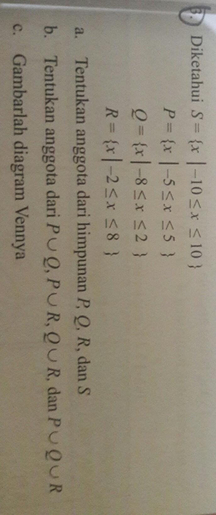 Sebutkan Anggota-anggota Himpunan P Dan Q : sebutkan, anggota-anggota, himpunan, A.tentukan, Anggota, Himpunan, P,q,r, Tentukan, Irisan, Brainly.co.id