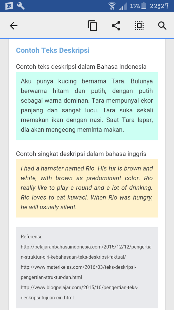 Contoh Teks Deskripsi : contoh, deskripsi, Contoh, Deskripsi, Brainly.co.id