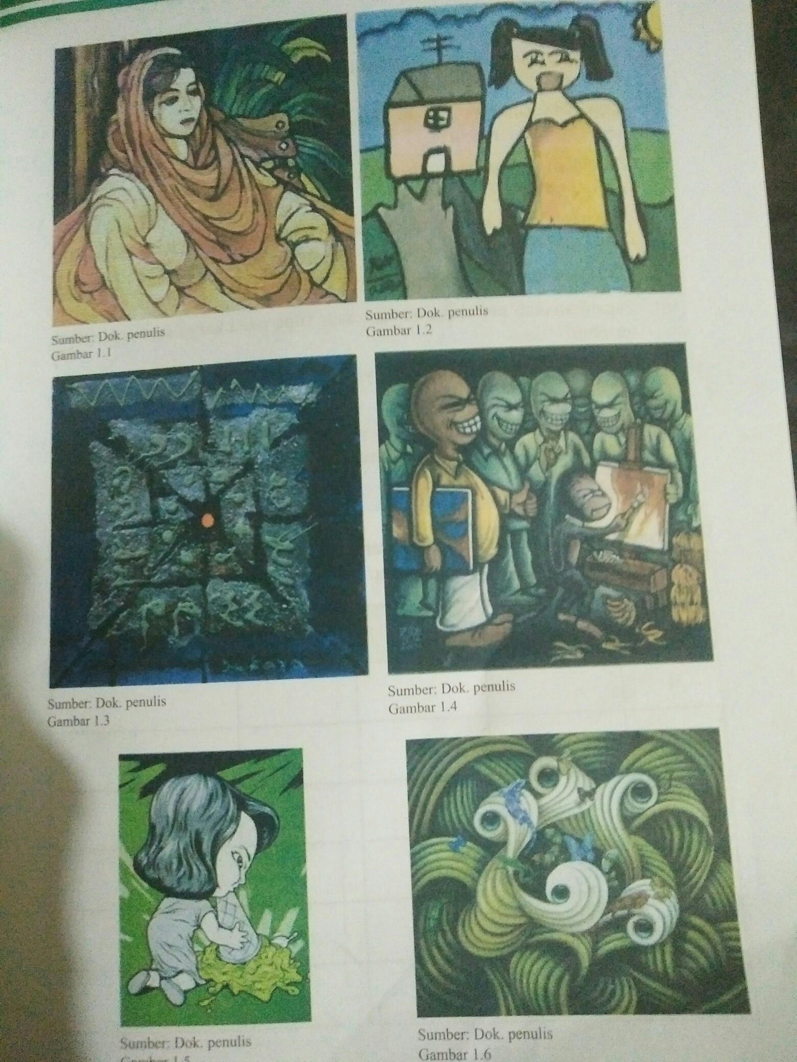 Jenis Jenis Karya Seni Rupa 2 Dimensi : jenis, karya, dimensi, Mengidentifikasi, Jenis, Karya, Dimensi